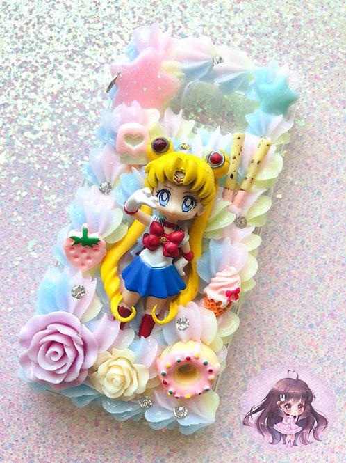 Samsung S6 Sailor Moon Decoden Case