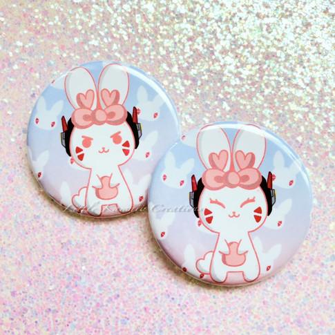 D.Va Bunny Pinback Buttons
