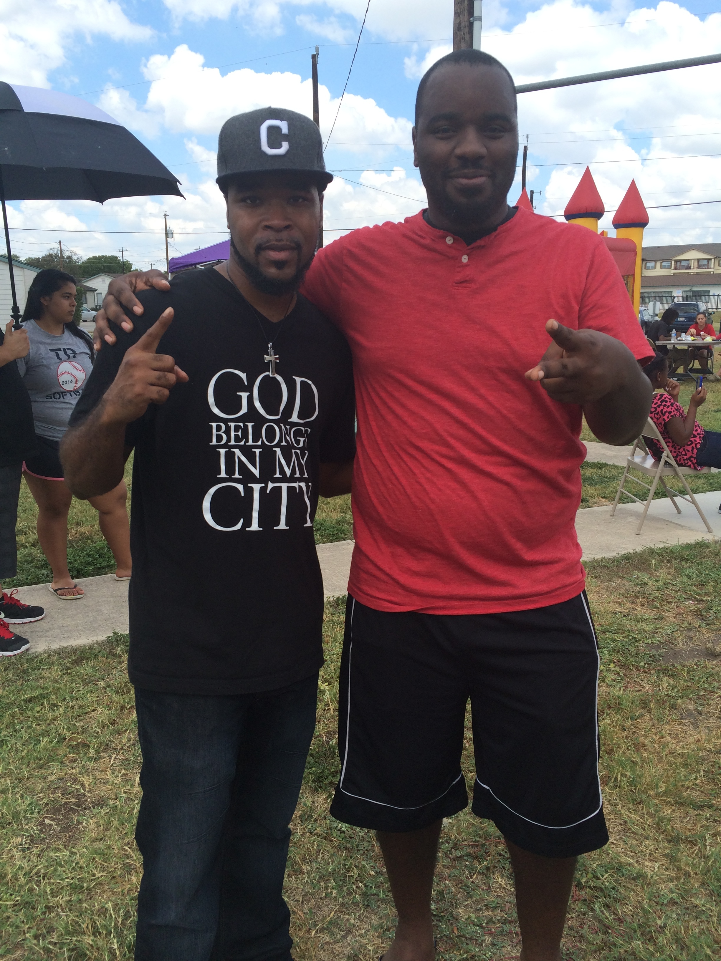 With my fam Pastor Marcus McIntyre