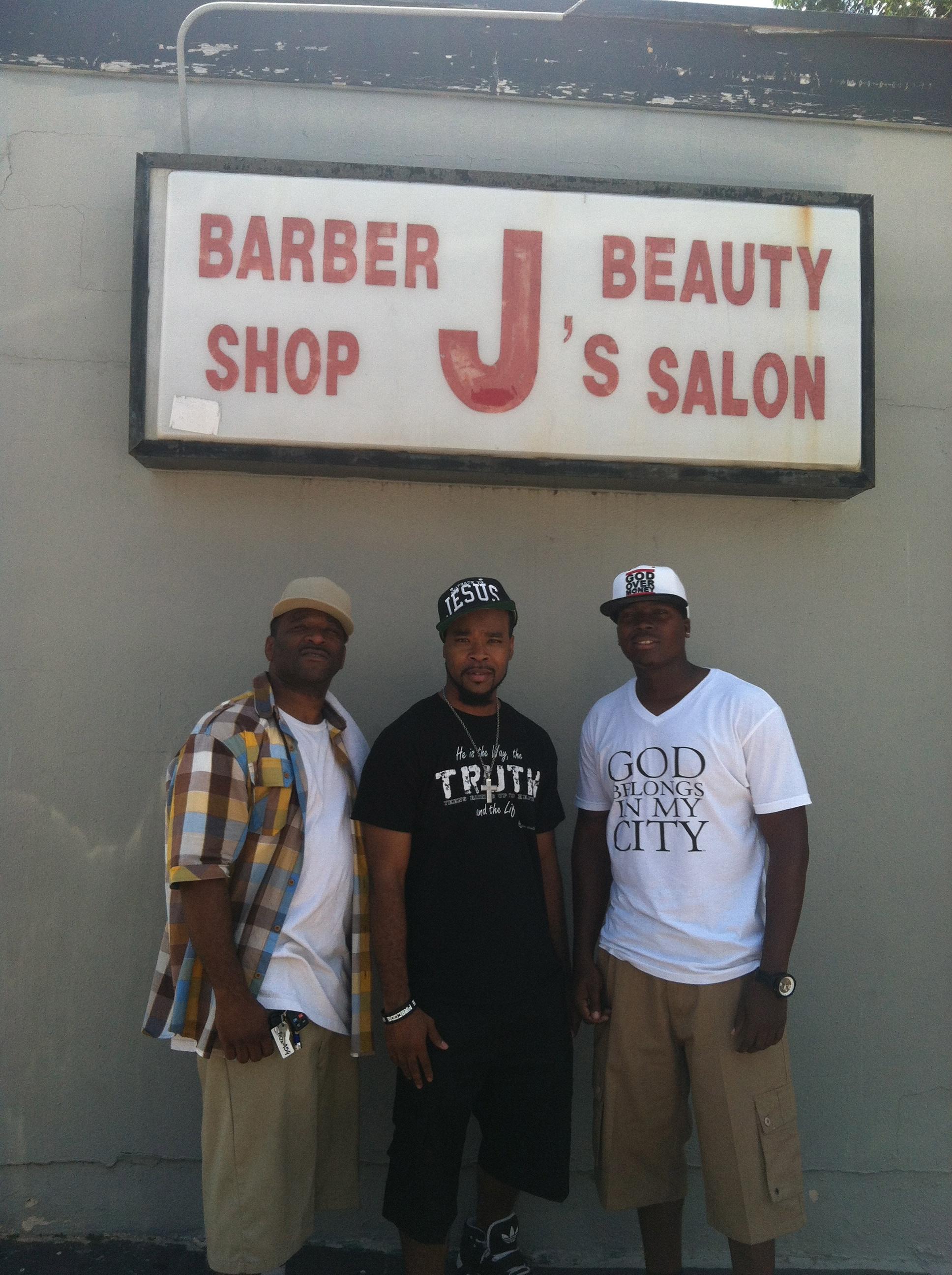 Barber J's- Barbershop Tour