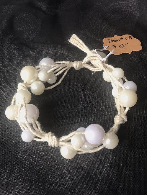 Hemp Mermaid Bracelet