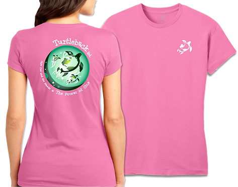 Women's Short-Sleeved Pink: The Power of One