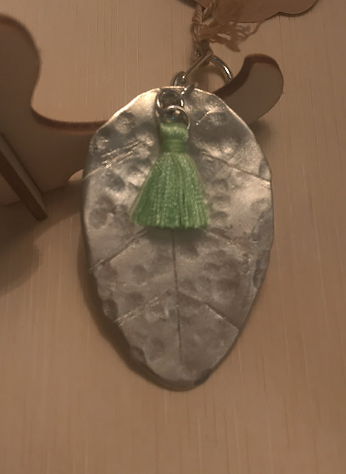 "Spoon ""Leaf"" Keychain"