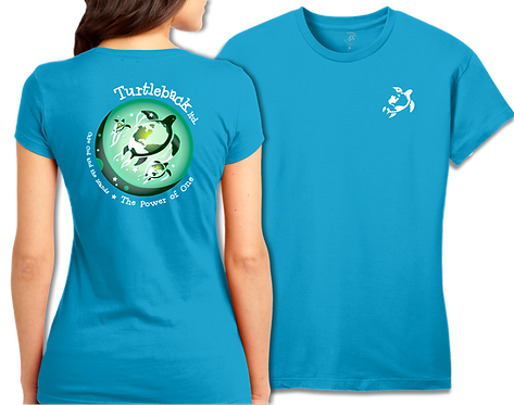 Women's Short Sleeve Turquoise: The Power of One