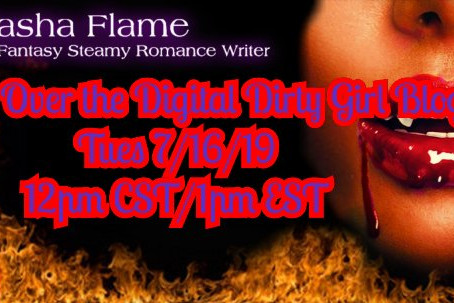 Join me on Tuesday as I set fire to the Digital Dirty Girl Book Blog 😘
