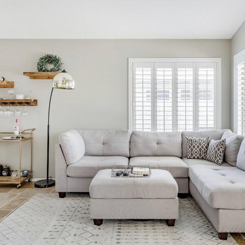 Living Room/ Bar Area