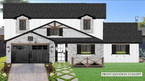 Front Elevation Concept