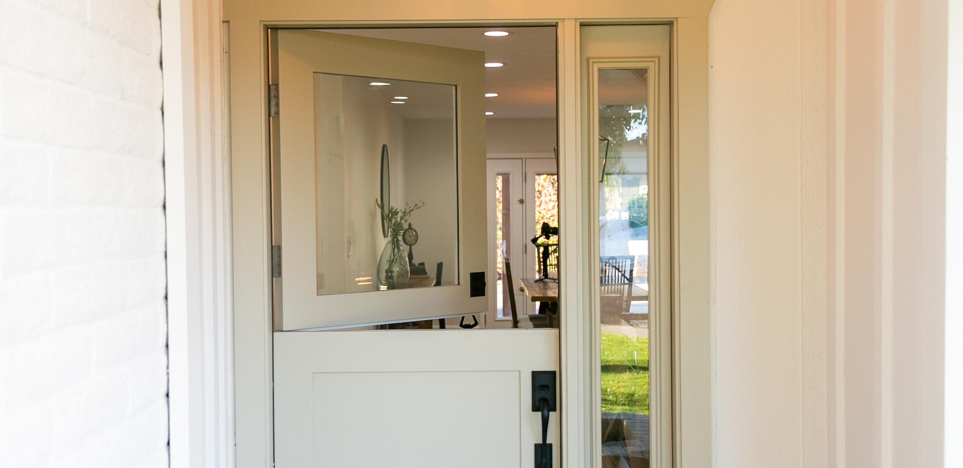 Custom Dutch Door