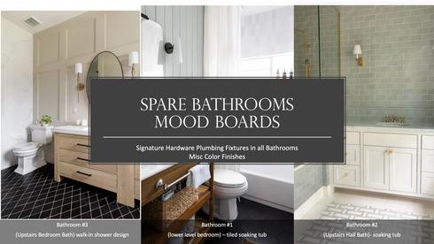 Bathroom(s) Mood Board