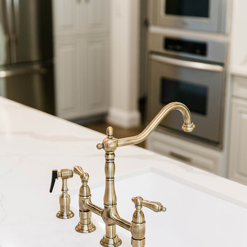 KB Faucet and SH Sink