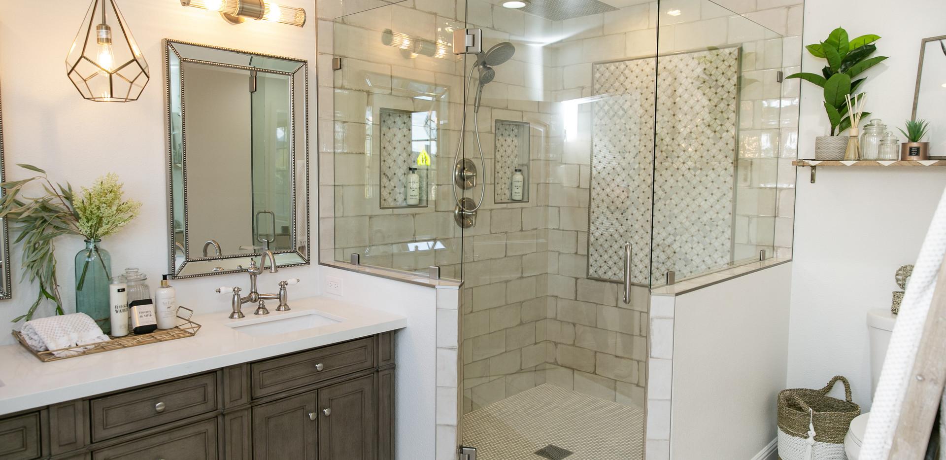 Massive Walk-in Shower