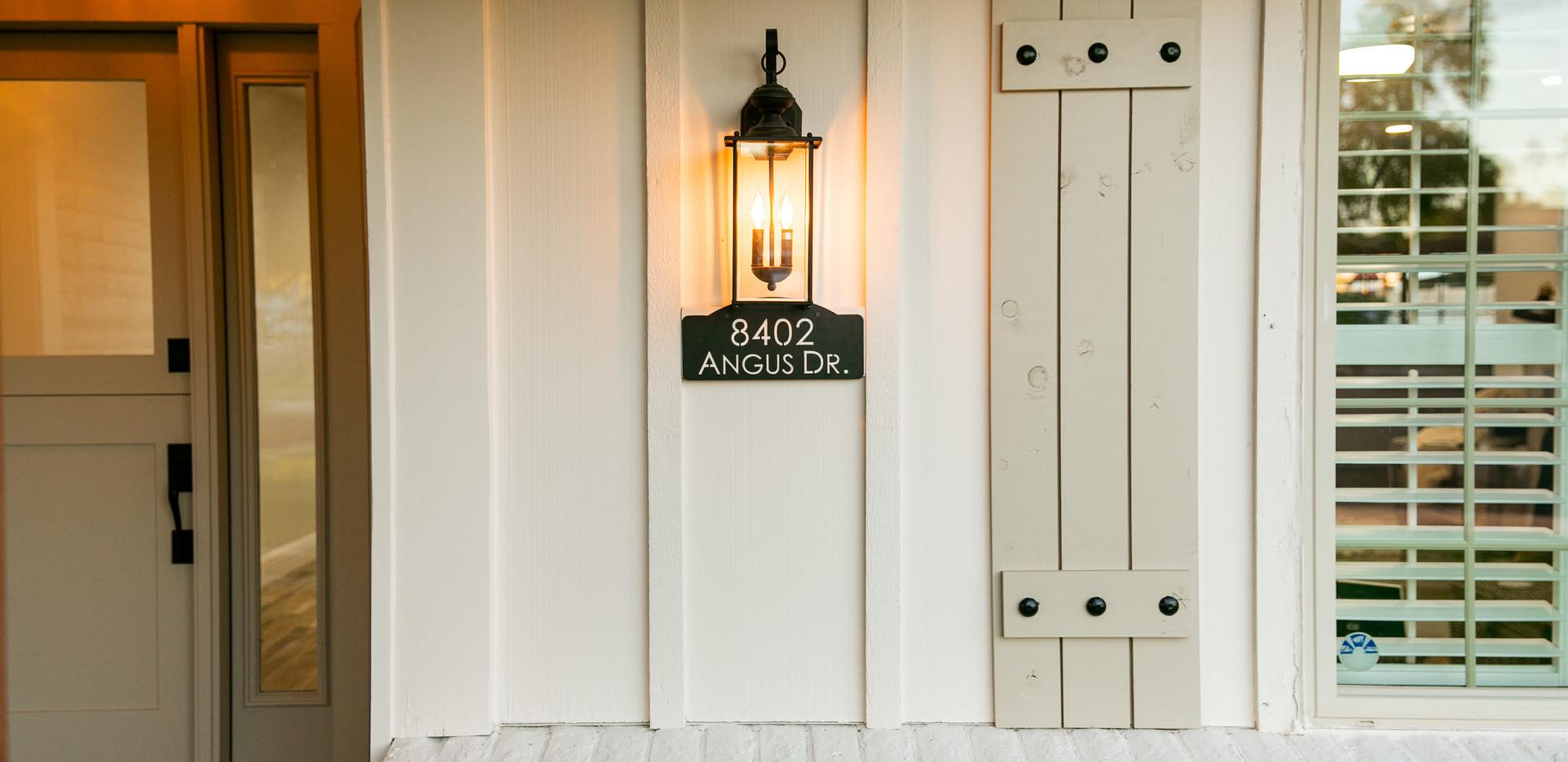 Custom Metal Address Sign