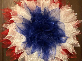 Where did I find my Patriotic materials for all of the products I want to make?