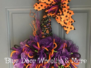 How to makeover a Dollar Tree Witch Hat