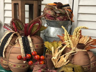 Fall Fabric Pumpkins