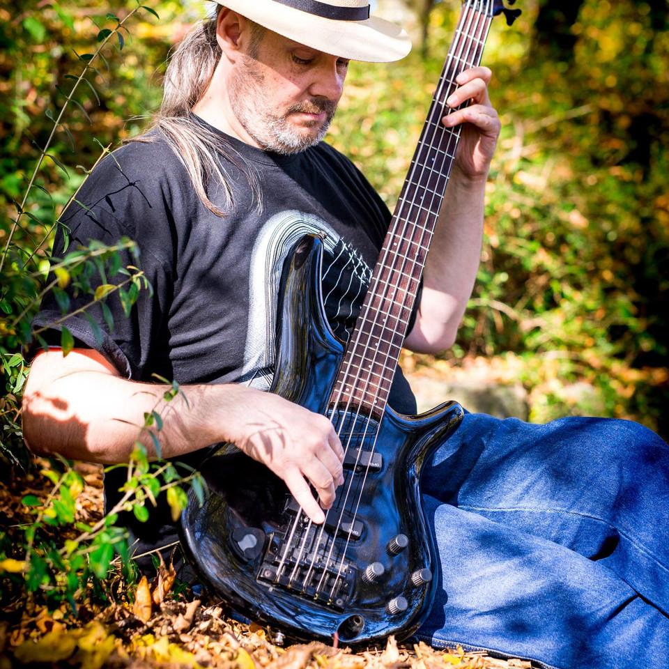 Portrait eines Gitarrenspielers