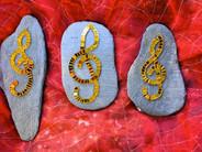 Die goldenen Notenschlüssel