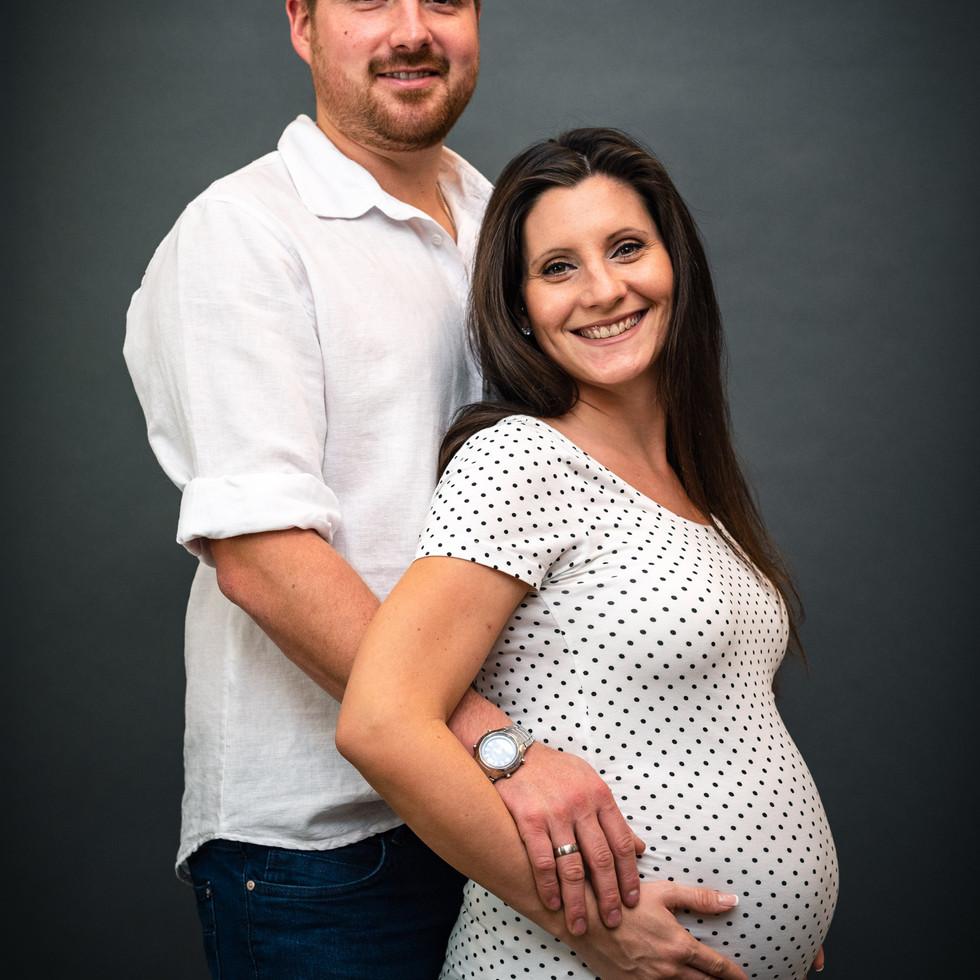 Babybauchshooting Paar