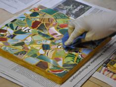 Claudia R. Kleines Mosaiktischchen