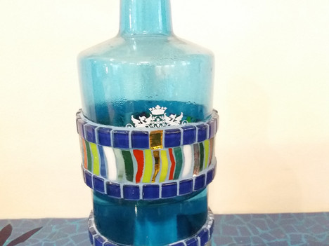 Wasserflasche, ein Beispiel von mir
