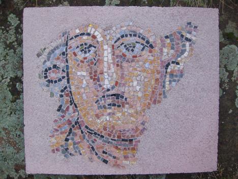 Römisches Mosaik -Kopie