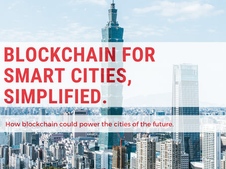 E-book: Blockchain for Smart Cities, Simplified.