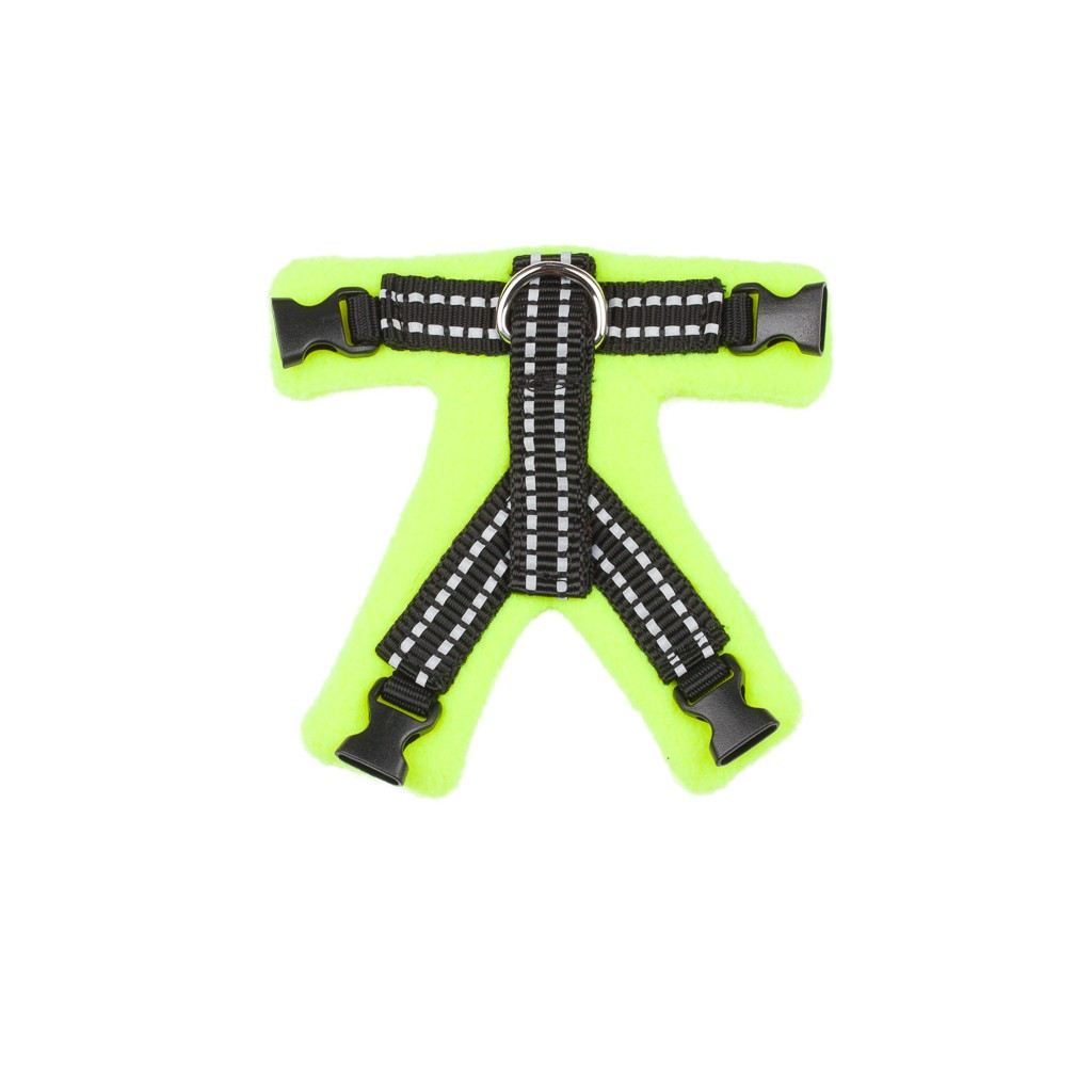 Perfect Fit Harness_Top_Green2