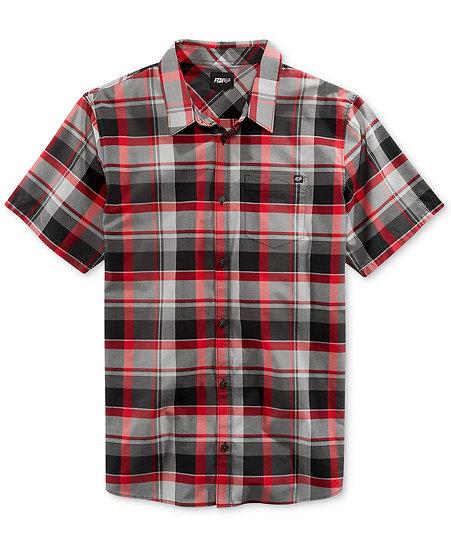 Camisa Fox Ramshackle Cranberry