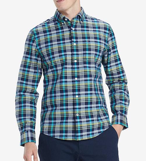 Camisa Tommy Hilfiger Plaid Twill