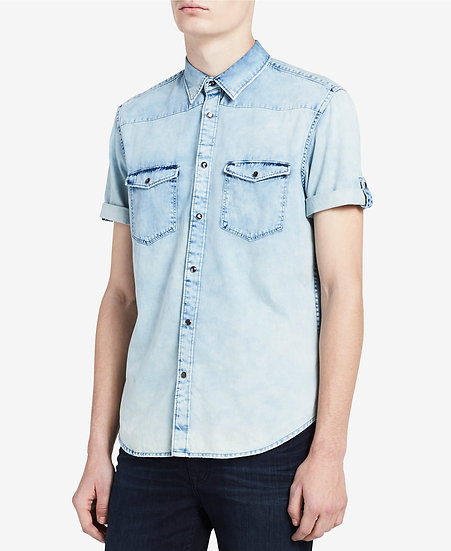 Camisa Calvin Klein Jeans Denim