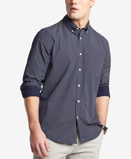 Camisa Tommy Hilfiger Lowe Neat