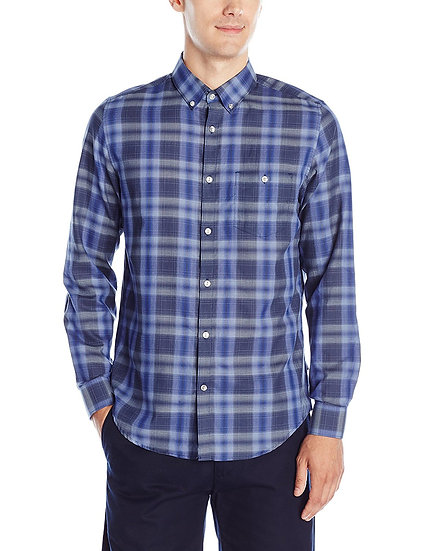 Camisa Calvin Klein Light Plaid