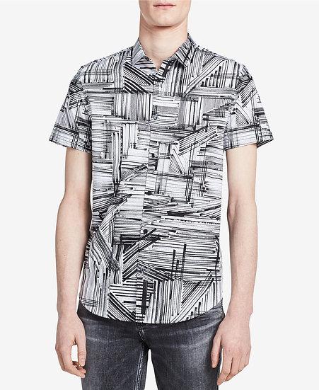 Camisa Calvin Klein Printed