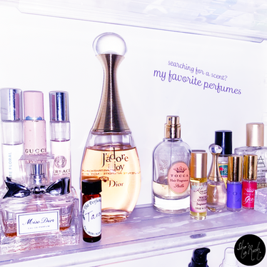 Searching for a Scent? My Favorite Perfumes