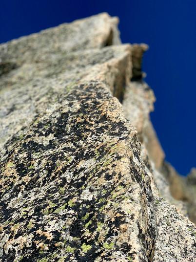 Makellose Felsqualität am Gross Furkahorn