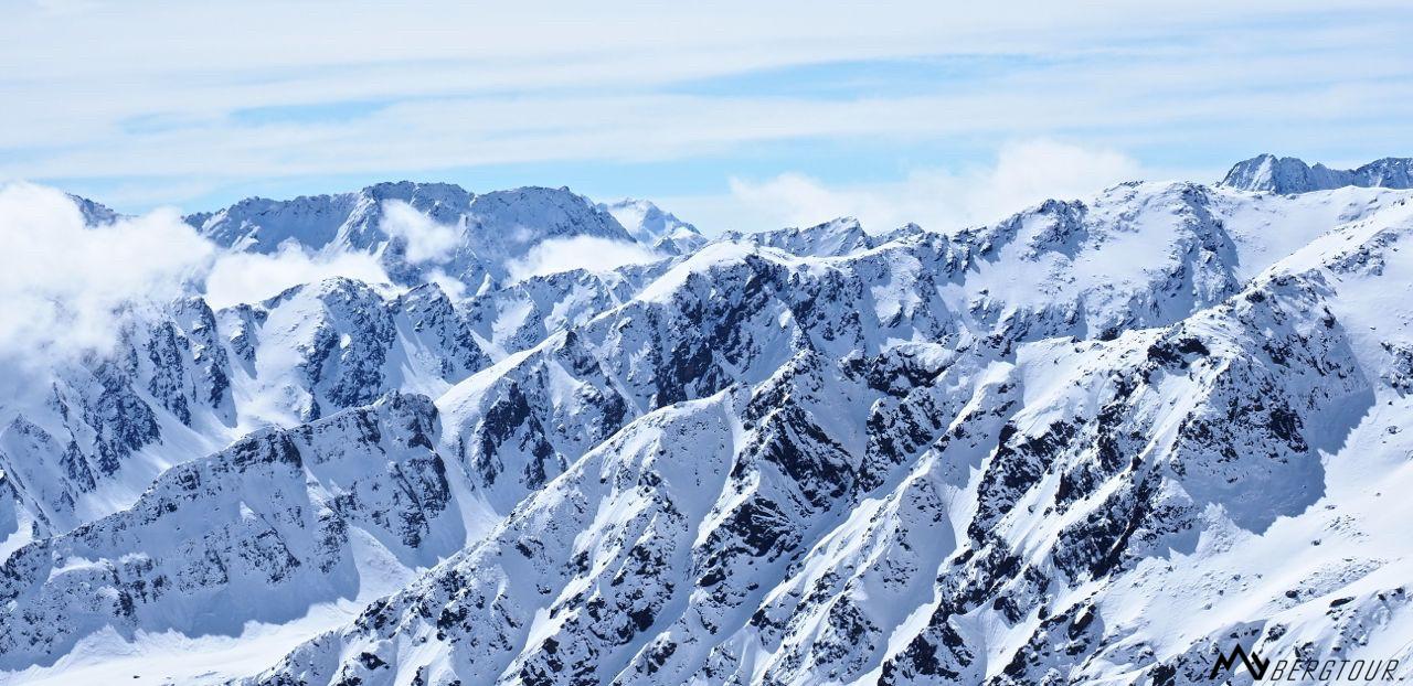 Skitour mit den Bergführern von mybergtour Bergwelt