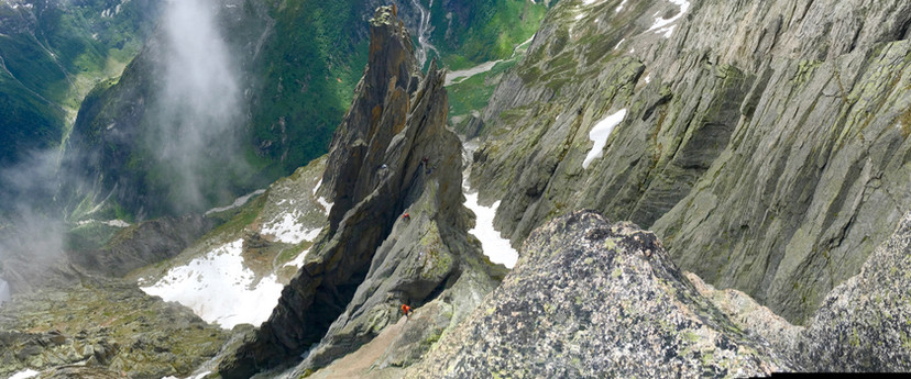 Salbit Westgrat Türme Klettern