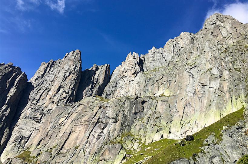 Salbit Westgrat Klettern Turm 1-2-3-4-5-6