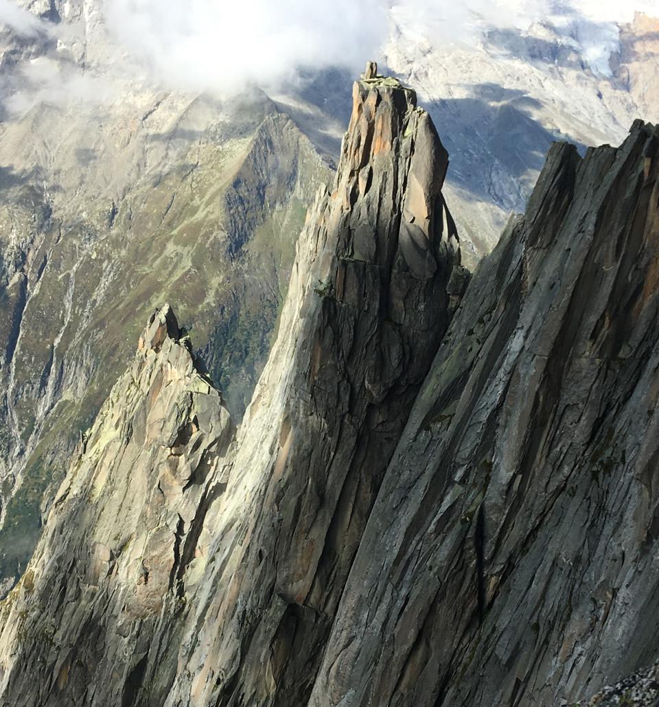 Salbit Westgrat Klettern Turm 1-2-3