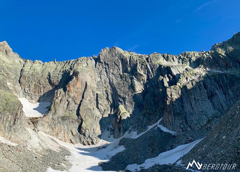 Klettern Furka Graue Wand