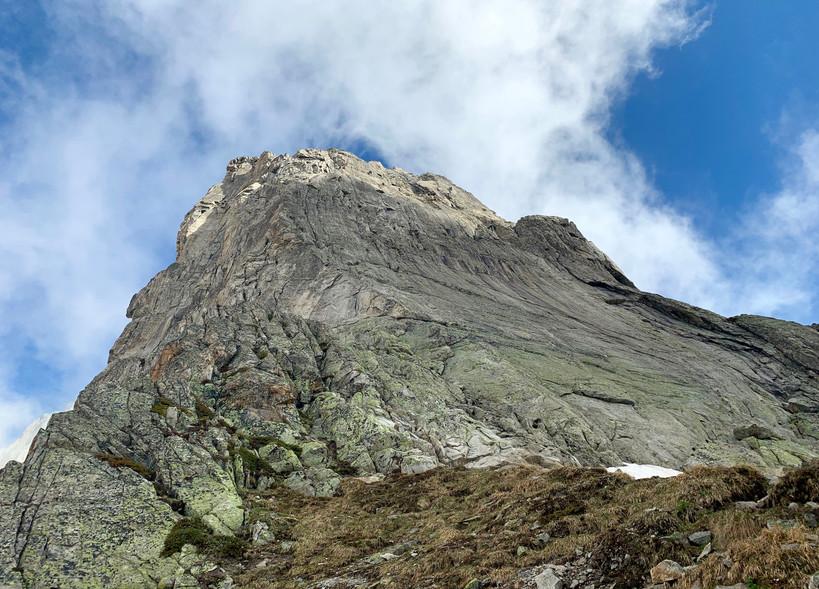 Bergseeschijen Südgrat, Klettern, Bergführer, Topo, Einstieg