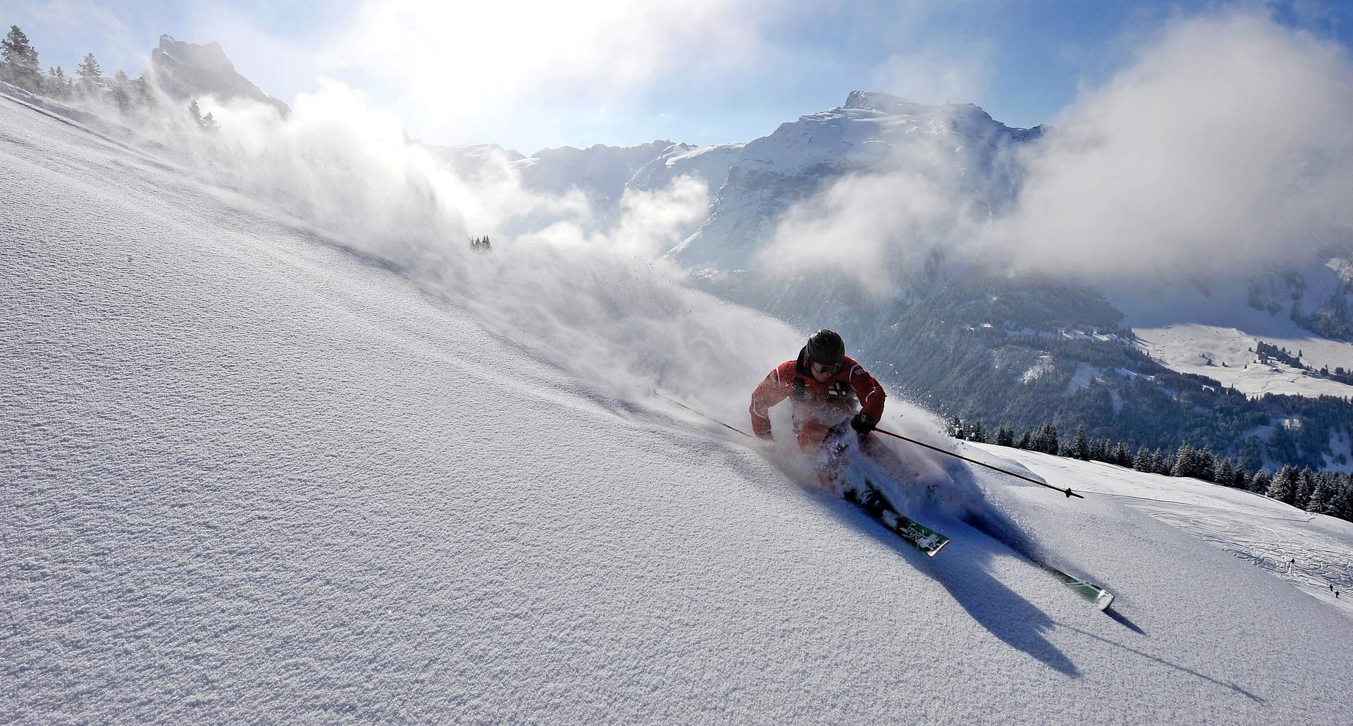 Freeride Engelberg Titlis First Line Powder