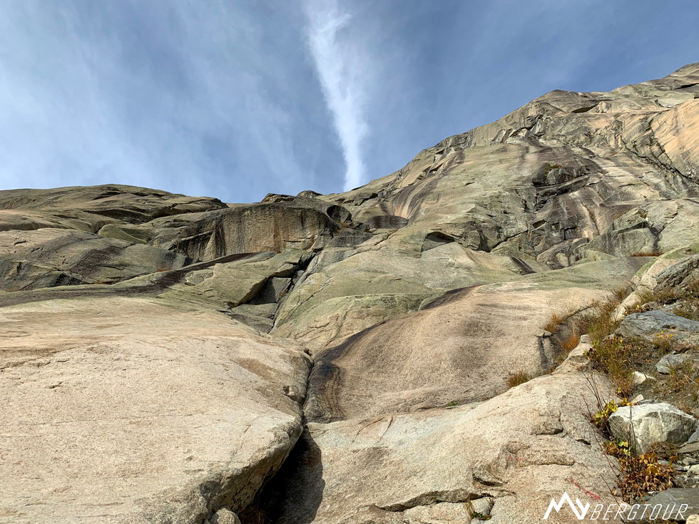 Eldorado Grimsel Klettern Bergführer mybergtour