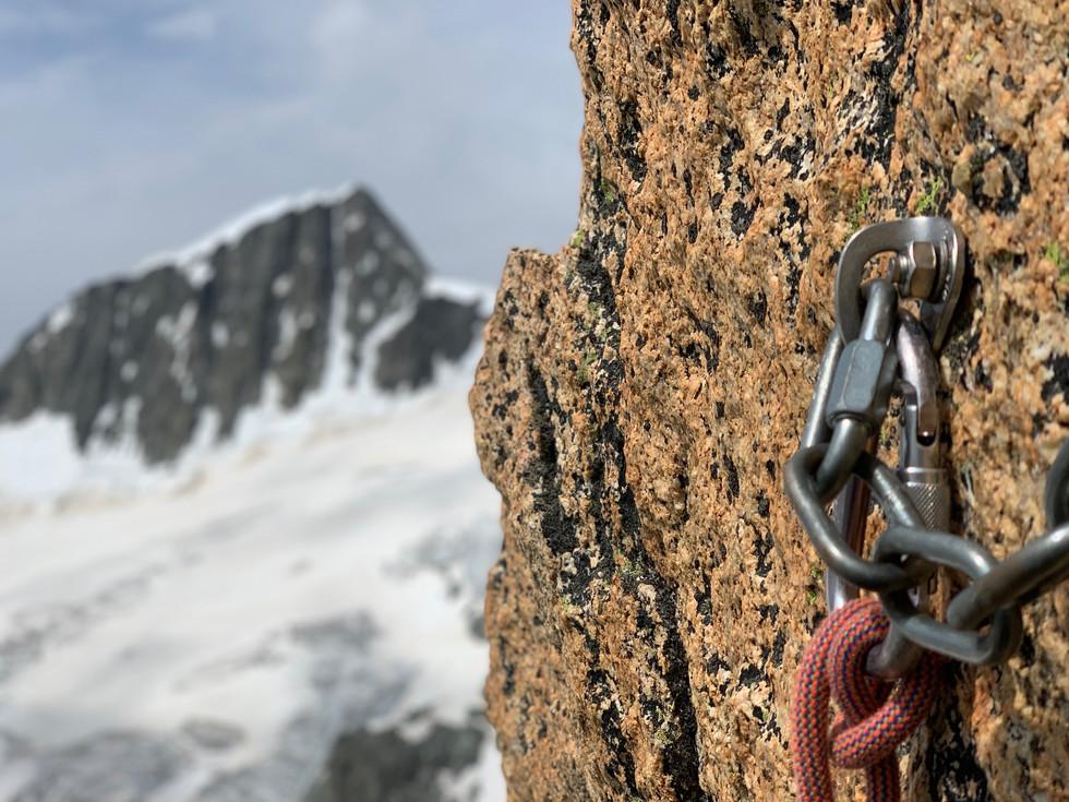 Gletschhorn Südgrat Blick auf Galenstock