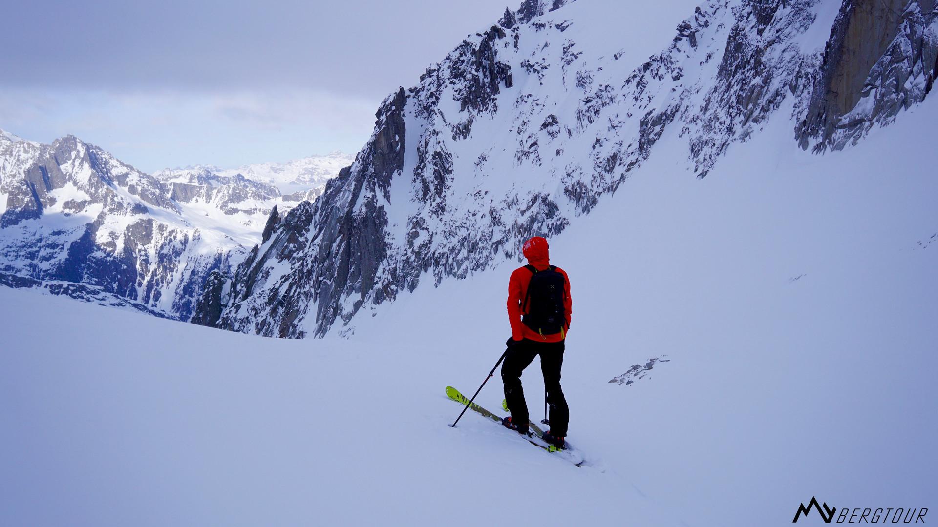 Skitour mit den Bergführern von mybergtour Ruhe