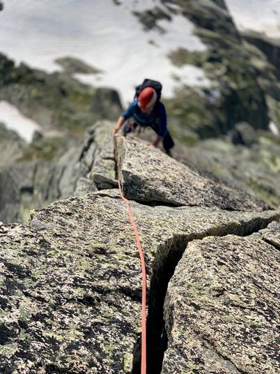 Gross Furkahorn Südostgrat, Klettern, Bergführer