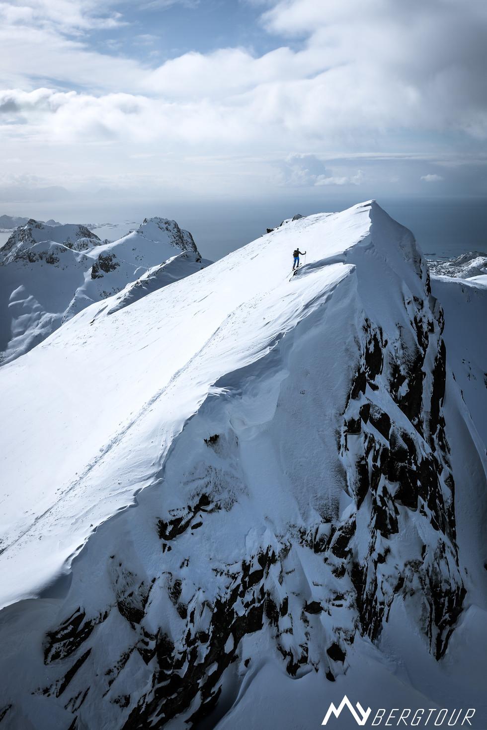 Skitour mit den Bergführern von mybergtour Gipfel