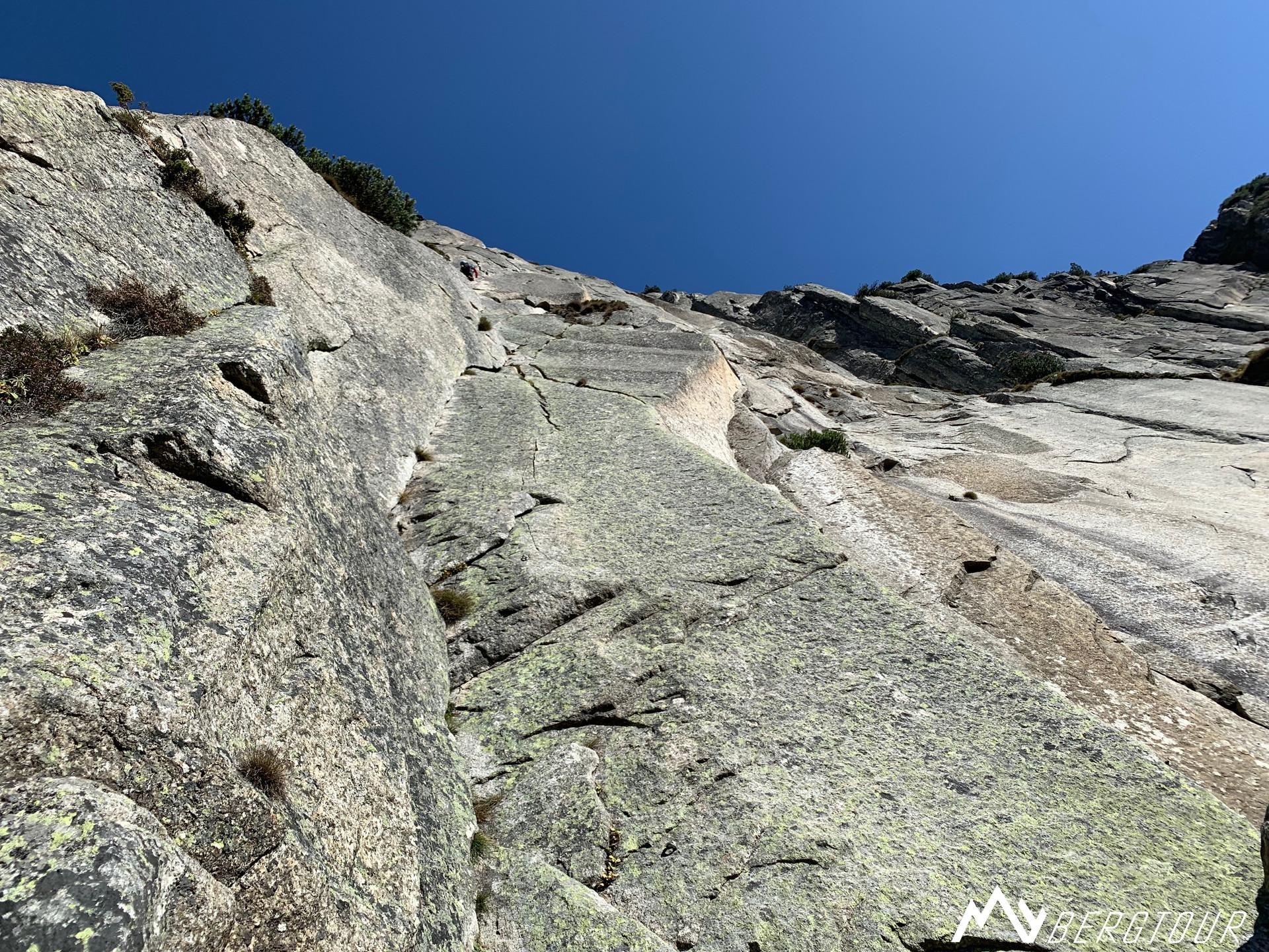 Teufelstalwand Klettern Im Zeichen der Freundschaft mybergtour Verschneidung