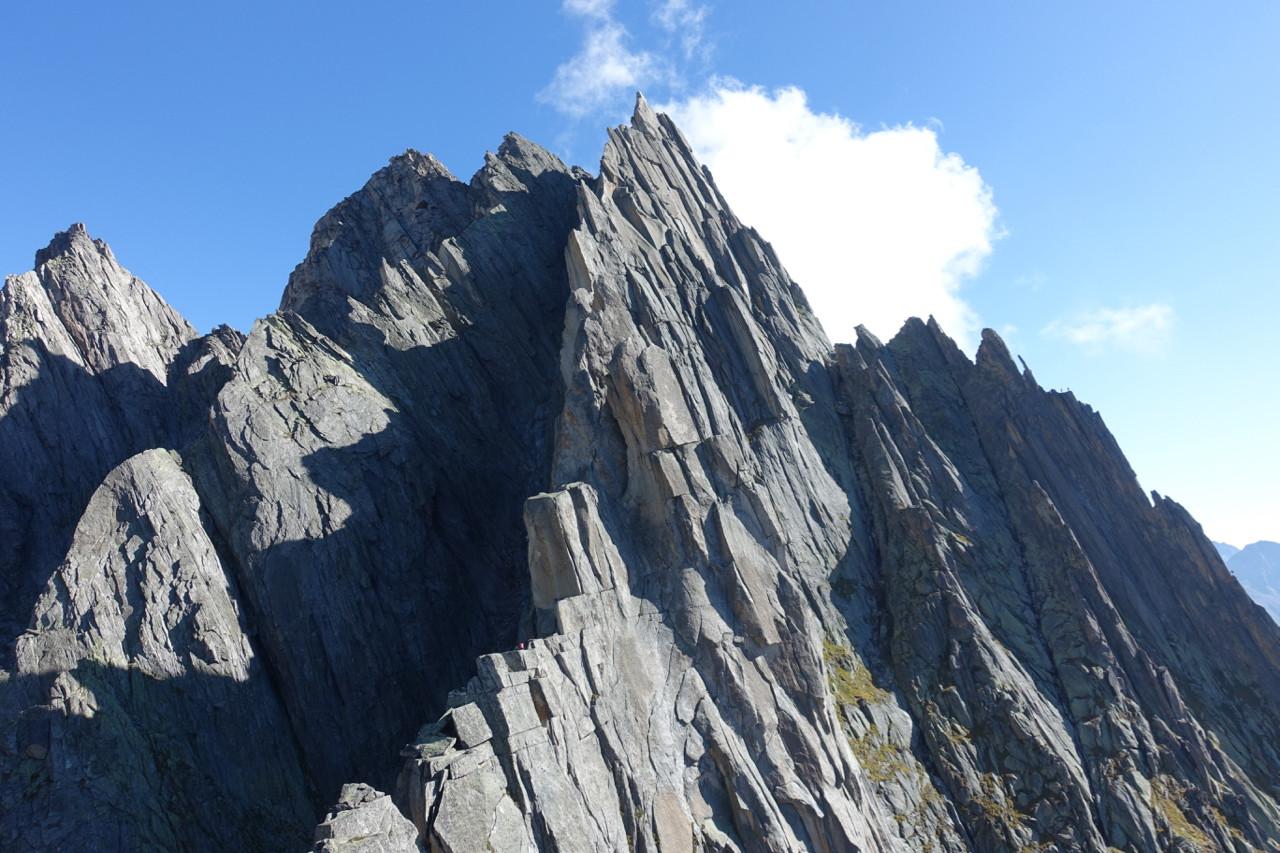 Salbit Westgrat Klettern Turm 3-4-5-6