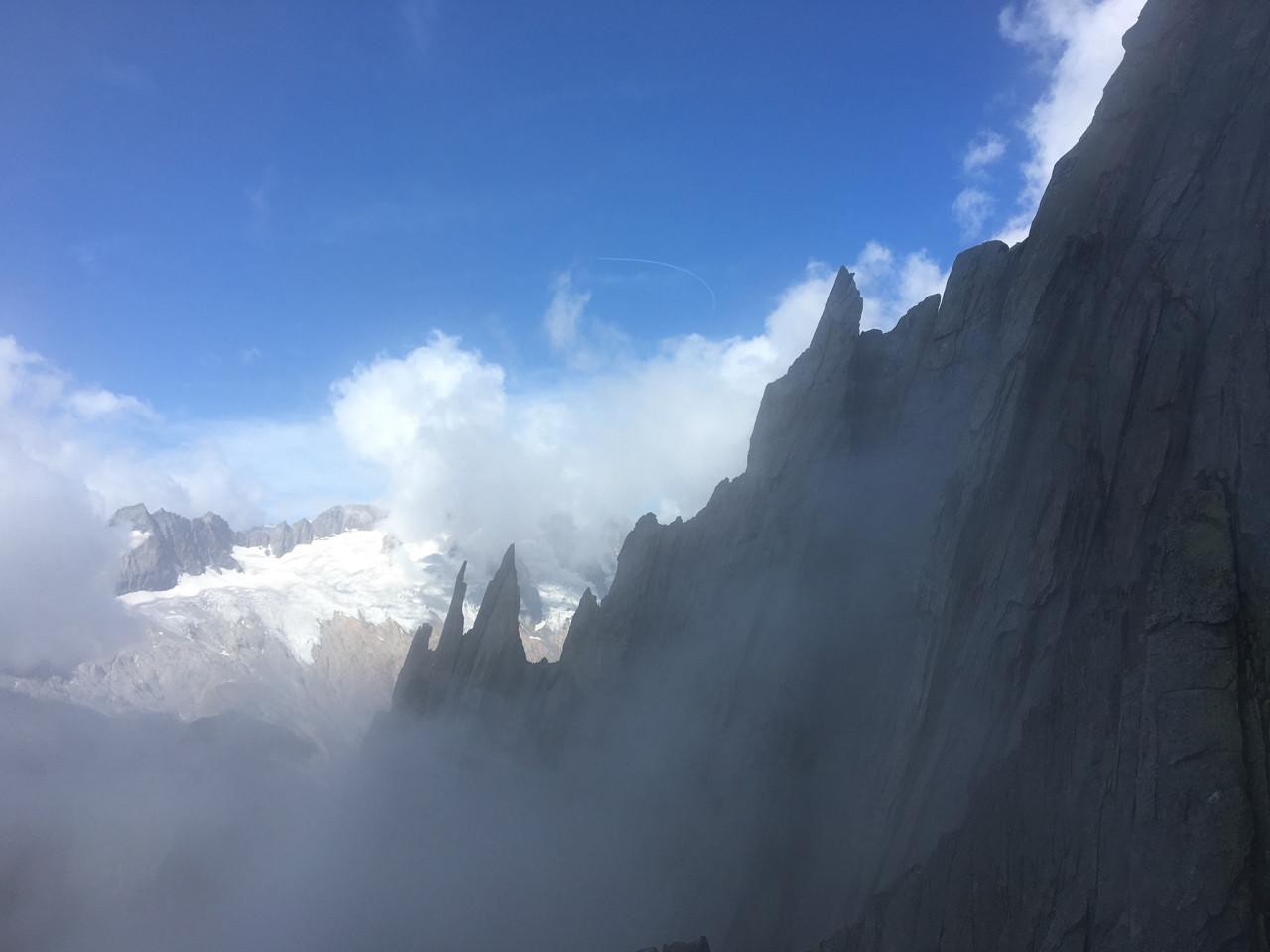 Salbit Westgrat Klettern